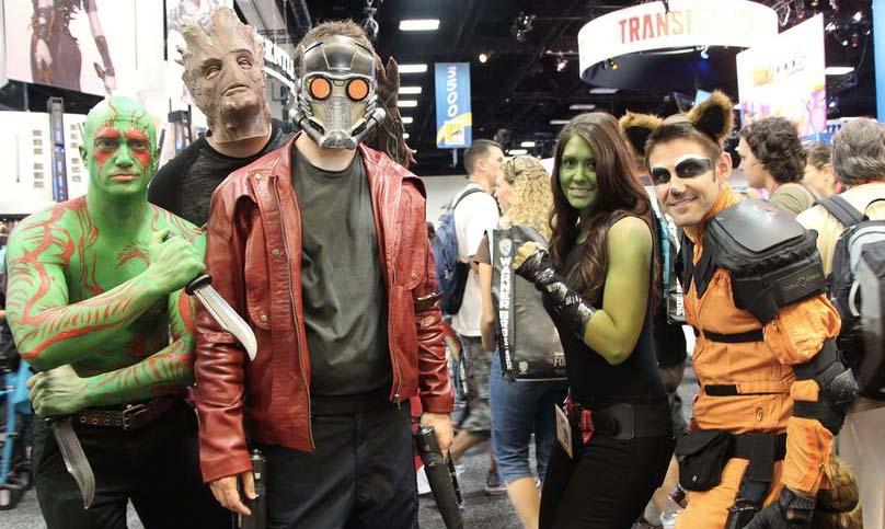 galaxy guardians cosplay