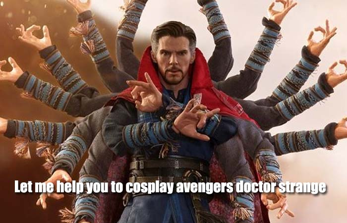 Let me help you to cosplay avengers doctor strange