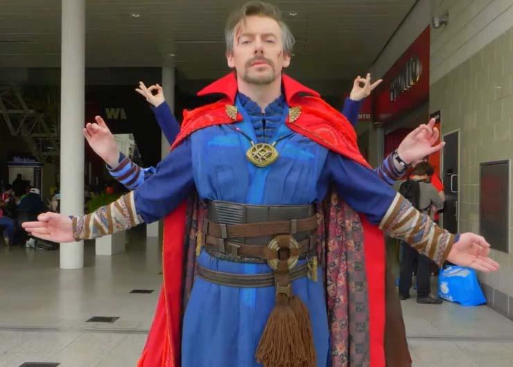 doctor strange cosplay costumes