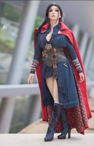 female doctor strange cosplay costumes