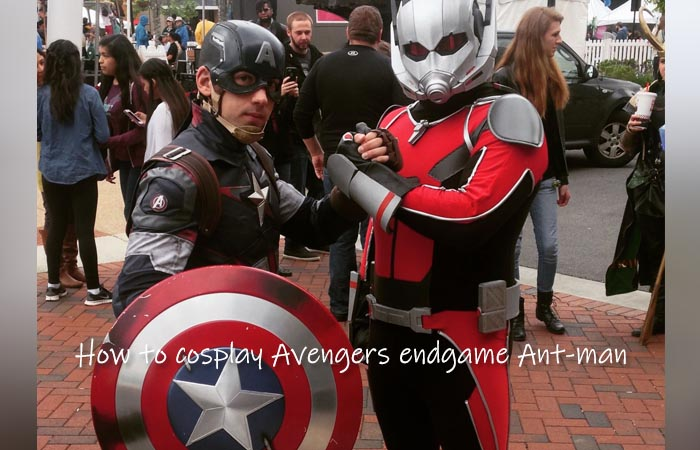 How to cosplay Avengers endgame Ant-man