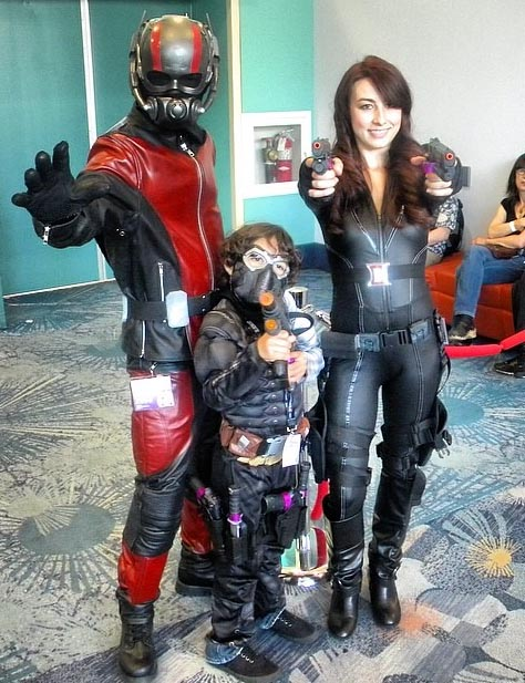 ant-man cosplay show 3