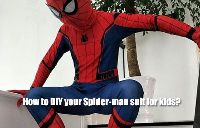 How to DIY your Spider-man suit for kids